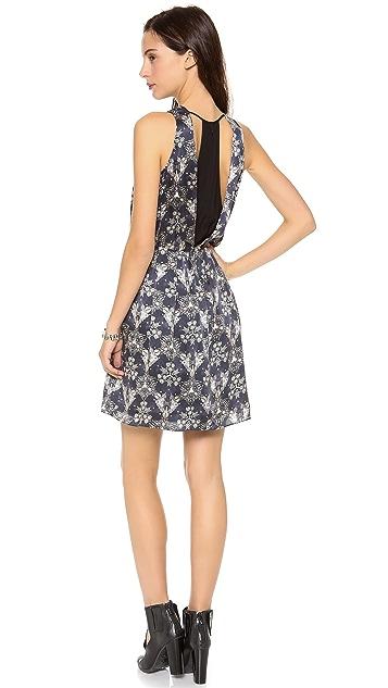 Rebecca Taylor Sleeveless Kaleidoscope Dress
