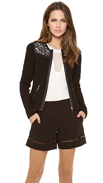 Rebecca Taylor Quilted Jacket