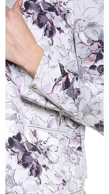 Rebecca Taylor Floral Print Blazer
