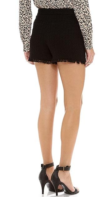 Rebecca Taylor Tweed Shorts