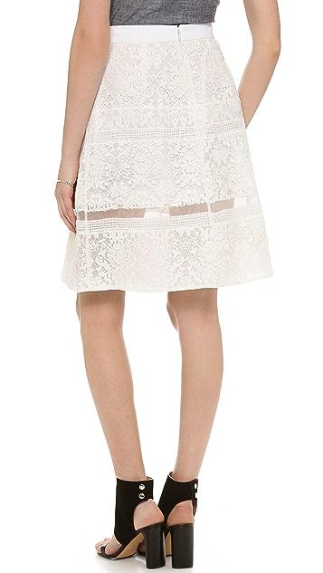 Rebecca Taylor Lace Skirt