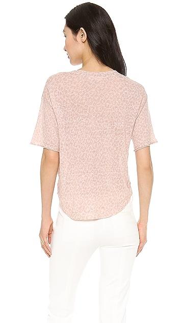 Rebecca Taylor Leo Print Sweater