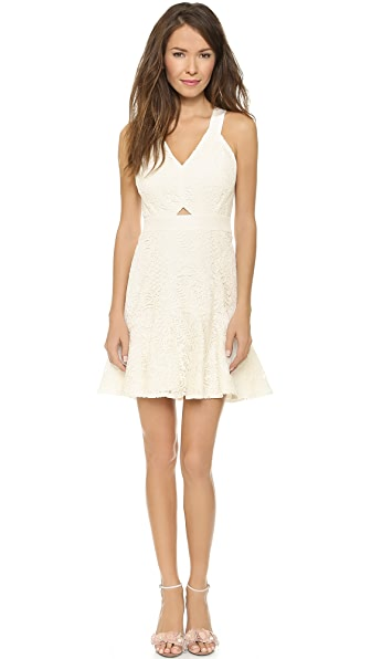 Rebecca Taylor Halter Lace Dress