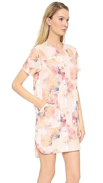 Rebecca Taylor Enchanted Gardens Voile Dress
