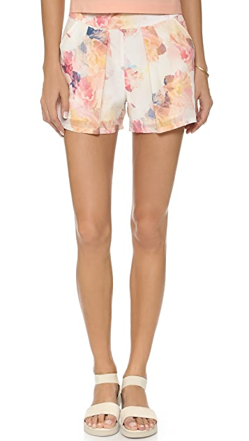 Rebecca Taylor Enchanted Gardens Shorts