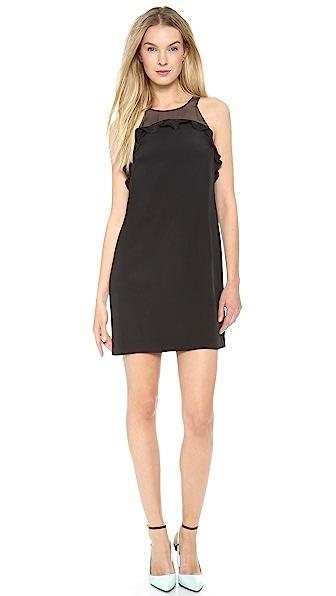 Rebecca Taylor Ruffle Shift Dress
