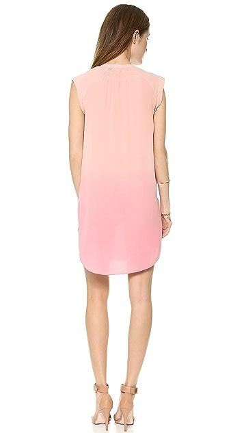 Rebecca Taylor Dip Dye Shift Dress