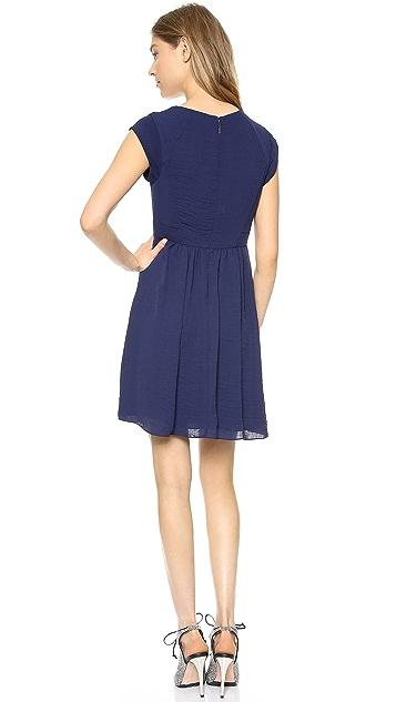 Rebecca Taylor Beaded Easy Dress