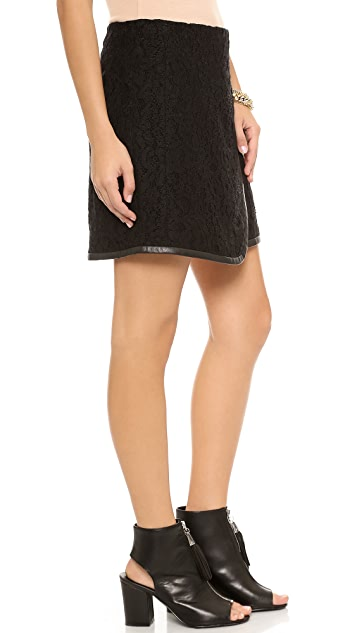 Rebecca Taylor Lace Wrap Skirt