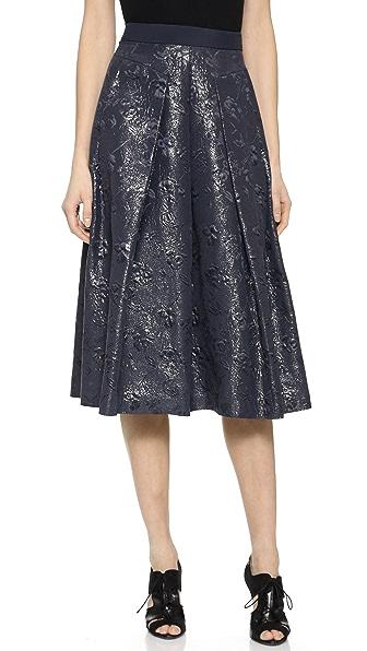 Rebecca Taylor Matelasse Midi Skirt