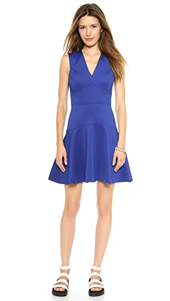 Rebecca Taylor V Neck Dress