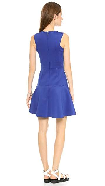 Rebecca Taylor V Neck Dress