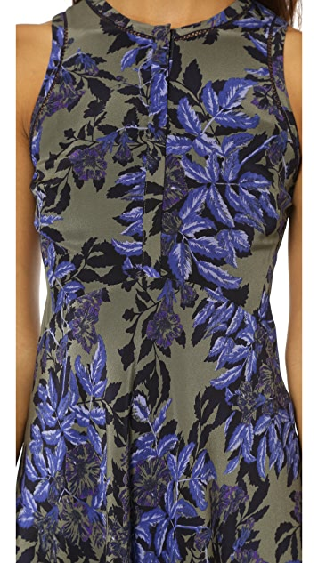 Rebecca Taylor Flame of the Forest Dress