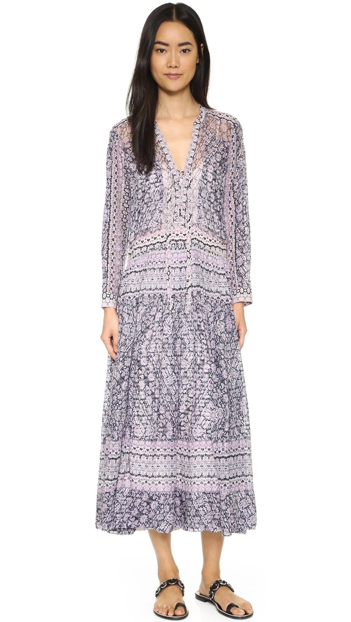 Rebecca Taylor Marrakech V Neck Maxi Dress | SHOPBOP
