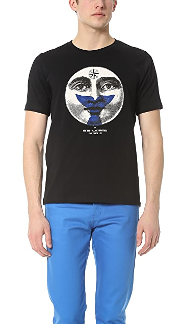 Paul Smith Red Ear Face and Fish Tail T-Shirt