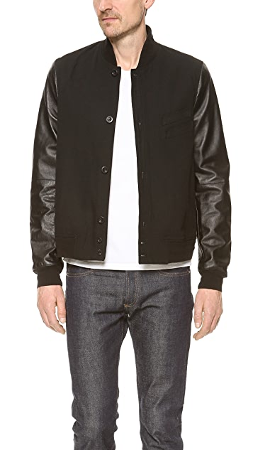 Paul Smith Red Ear Bomber Jacket
