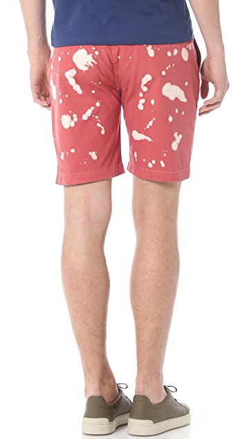 Paul Smith Red Ear Standard Pleated Shorts