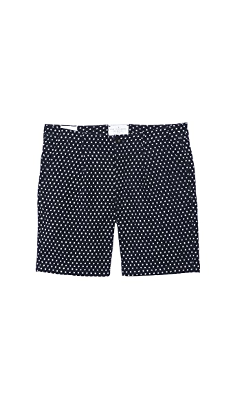 Paul Smith Red Ear Standard Fit Pleated Shorts
