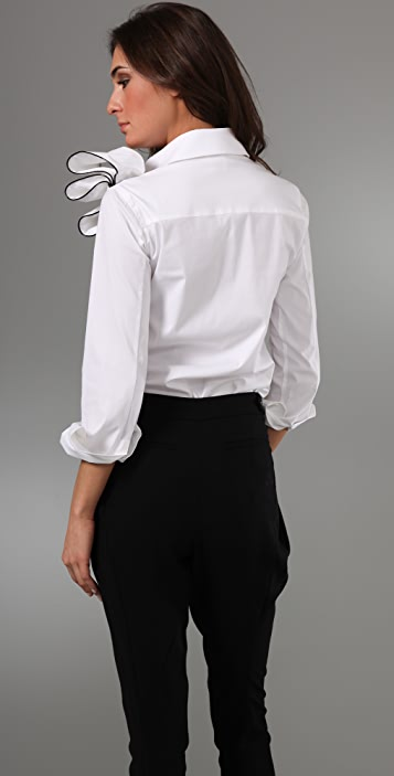 RED Valentino Blouse with Bow Detail