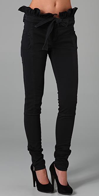 RED Valentino Skinny Jeans with Tie