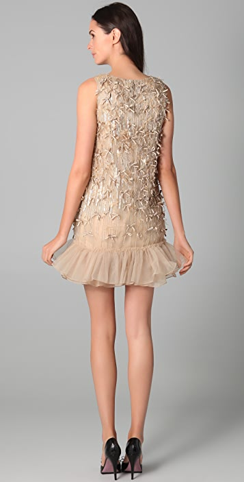 RED Valentino Cocktail Dress with Bows