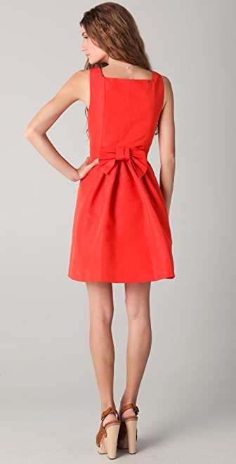 RED Valentino Bow Back Tank Dress