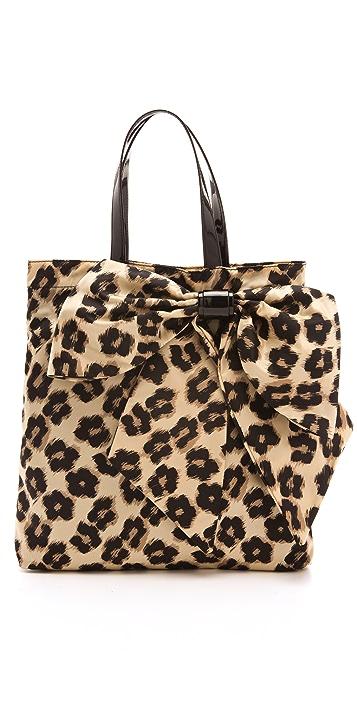 RED Valentino Leopard Print Tote