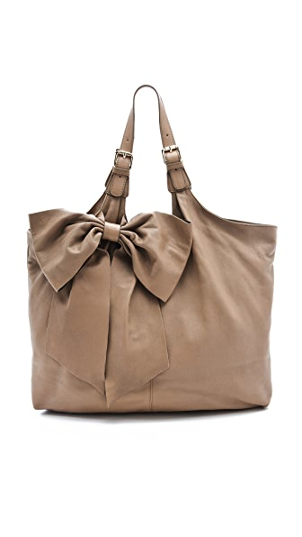 RED Valentino Large Bow Hobo