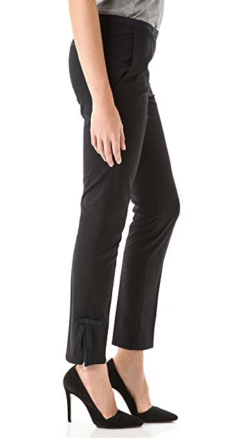 RED Valentino Ankle Bow Pants