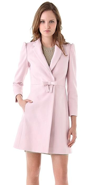 RED Valentino Bow Coat