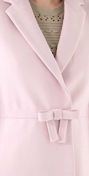 RED Valentino Bow Coat