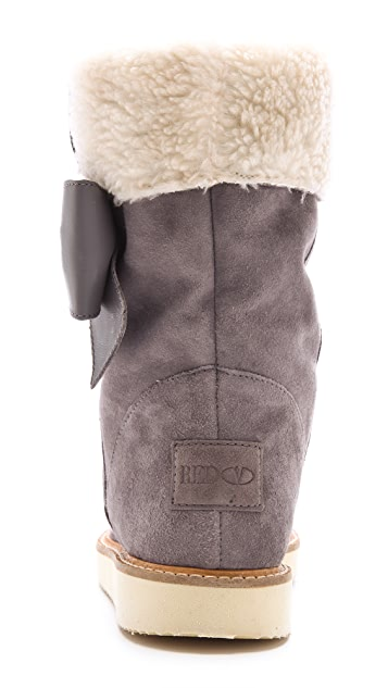 RED Valentino Sherpa Boots