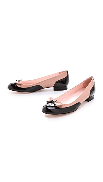 RED Valentino Bow Flats