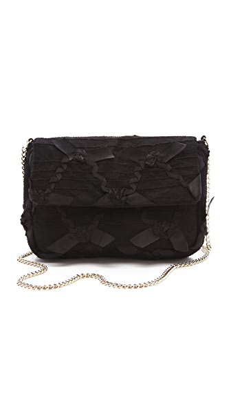 RED Valentino Lace Shoulder Bag