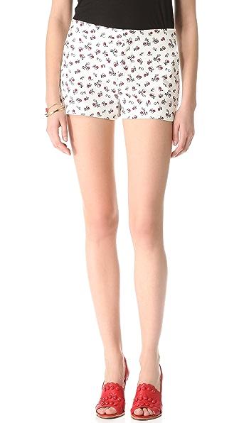 RED Valentino Cherry Print Shorts