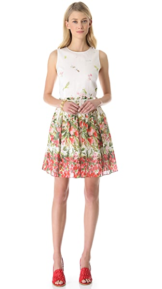 RED Valentino Strawberry Field Dress