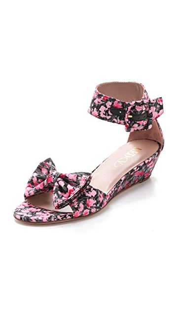 RED Valentino Ankle Strap Sandals