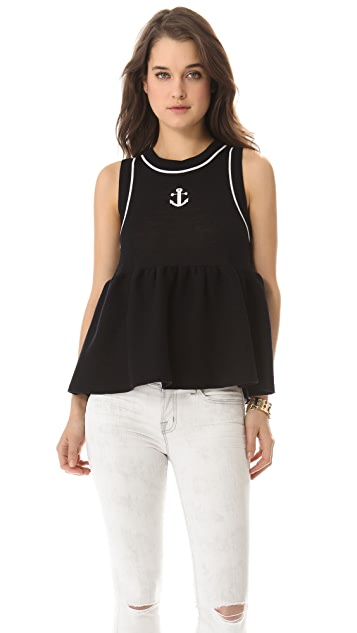 RED Valentino Anchor Knit Top