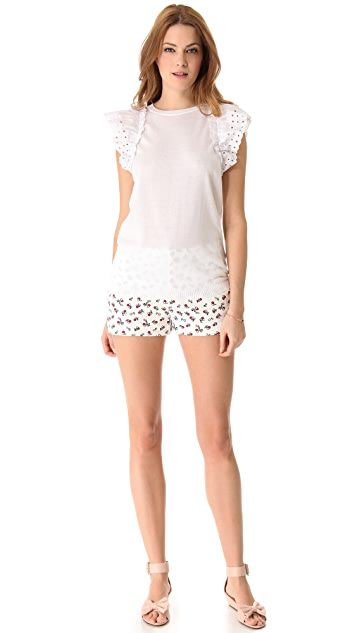 RED Valentino Flounce Top