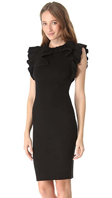 RED Valentino Ribbon Sheath Dress