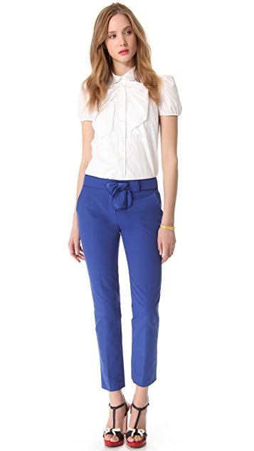 RED Valentino Bow Pants