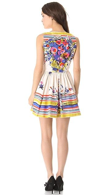 RED Valentino Flower Bouquet Dress
