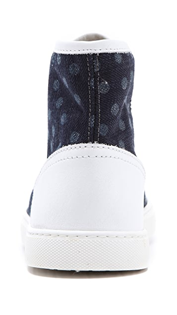 RED Valentino High Top Sneakers