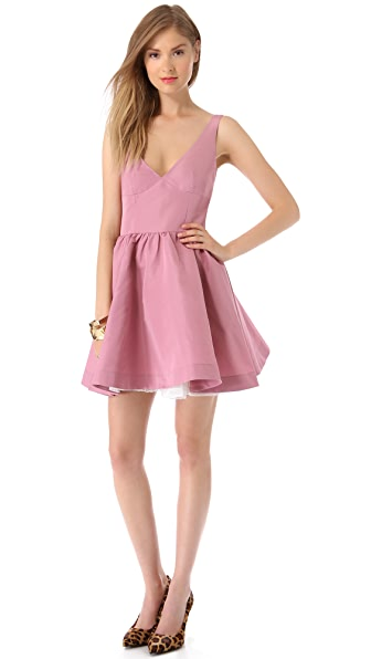 RED Valentino V Neck Dress