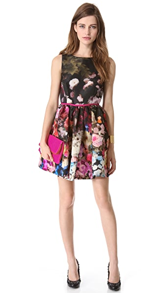 RED Valentino Hazy Garden Sleeveless Dress