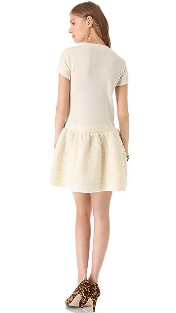 RED Valentino Merino Mini Dress