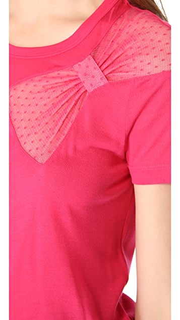 RED Valentino Bow Tee