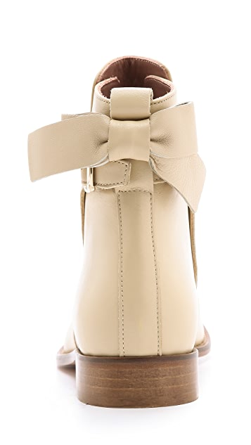 RED Valentino Bow Short Booties