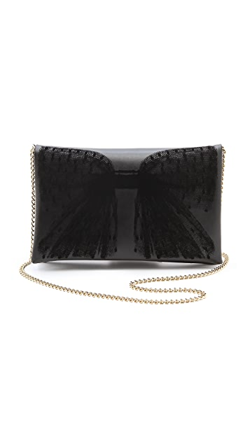 RED Valentino Bow Clutch