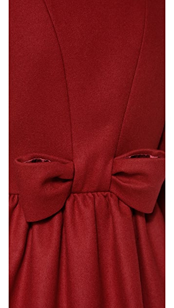 RED Valentino Bow Back Coat